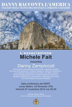 L'associazione Michele Fait incontra Danny Zampiccoli
