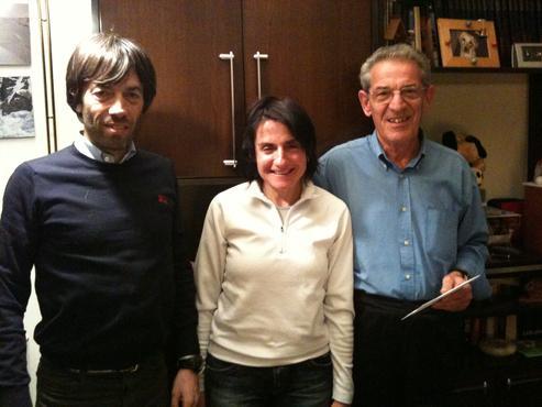 Fabrizio, Marci e Luciano